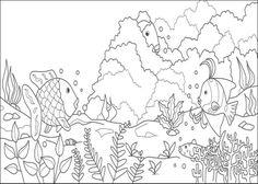 kleurplaten zeeplanten