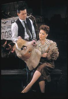 Jack Klugman and Ethel Merman in Gypsy - ID: ps_the_2156 - NYPL Digital Gallery