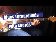 I would like to show you three turnarounds played with chords. In the language of the blues, the term turnaround refers to a musical figure played over the I. Blues Guitar Chords, Blues Guitar Lessons, Guitar Chord Chart, Music Lessons, Guitar Solo, Guitar Tips, Playing Guitar, Learning Guitar, Teaching Channel