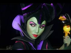 Maleficent Make-up Transformation