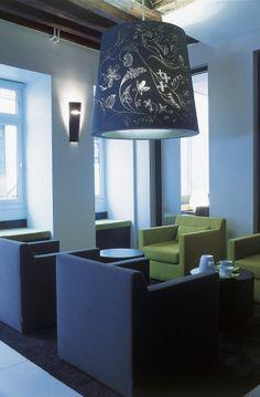 H tel puro wroclaw pologne fauteuil ottoman cinna furniture pintere - Fauteuil ottoman cinna ...