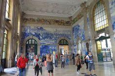 Sao Bento Train Station, Porto