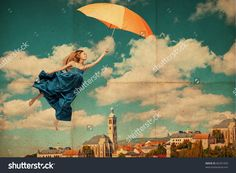 http://image.shutterstock.com/z/stock-photo-art-collage-with-flying-woman-vintage-image-85291459.jpg