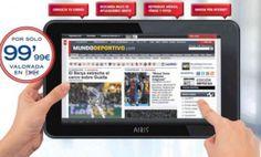 Llévate una Tableta Airis de 9 pulgadas con Mundo Deportivo por sólo 99,99 euros