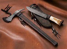 Tomahawk knife combo