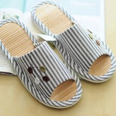 It does not get any sweeter than this.  2016 Good quality... :-) http://www.sustainthefuture.us/products/2016-good-quality-bamboo-summer-stripe-bottom-couple-home-shoes-cool-slippers-advanced-anti-skid-slippers-pu-bottom?utm_campaign=social_autopilot&utm_source=pin&utm_medium=pin