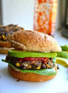 Spicy, Man-Approved Black Bean Burgers. Okay, maybe I CAN try meatless mondays.