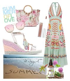 """""""Sun"""" by ahumadarosy on Polyvore featuring Temperley London, Sophia Webster, Dana Buchman and Quay"""