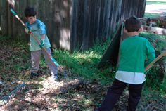 A Navigators chapter in Los Altos, California, helping restore a redwood grove. Navigators = gay-friendly boyscout type organization.