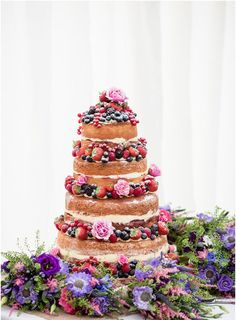 Best of 2013: Top 5 Naked Wedding Cakes from Real Weddings | Mine Forever