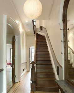 Brooklyn brownstone renovation project by MSA « Interior Design Files Brownstone Interiors, Brownstone Homes, Townhouse Interior, Victorian Interiors, Victorian Homes, Brooklyn Brownstone, Brooklyn House, Brooklyn Apartment, Brooklyn Style