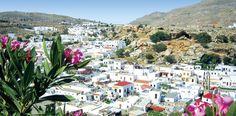 Griechenland Rhodos Kalathos - Schnell noch weg bei Tchibo Reisen
