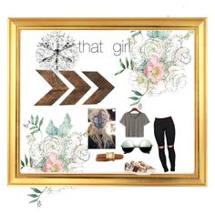 """that girl"" by niqueniqu3 on Polyvore featuring Gucci and Revo"