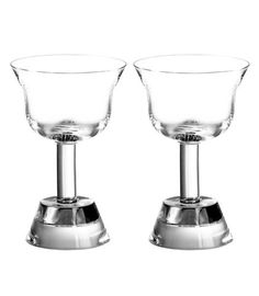 Ettore Sottsass Orfeo Liqueur Goblet 13cl (Twin Pack) 13cl