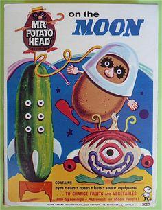 Mr. Potato Head on the Moon 1968 Hasbro