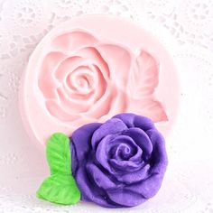 Silicone Mold Victorian Rose  Fondant Mold  Gum by MoldMeShapeMe, $6.75
