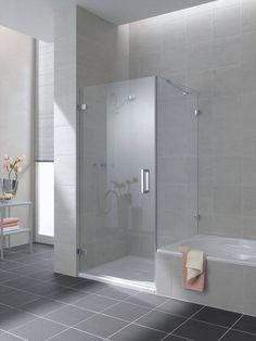 Afbeeldingsresultaat voor douchewand op bad
