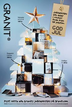 Christmas campaign for home deco store Granit