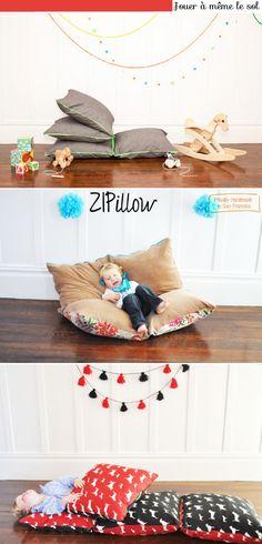 Chambre d'enfant: a meme le sol avec Zipillow!