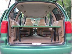 mataspeleo | VW SHARAN - CESTOVNÍ ÚPRAVA  -  POSTEL – rajce.net