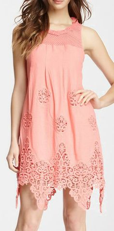 Sweet Dream Crochet Dress