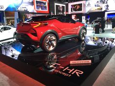 Radical this concept from Toyota's Scion division - the C-HR