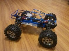 Traxxas Revo 2.5R conversion