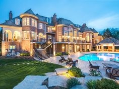 Fancy houses mansions beautiful mansion houses, dream mansion, my dream Luxury Mansions For Sale, Big Mansions, Luxury Homes Dream Houses, Dream Homes, Luxury Condo, Luxury Interior, Mansion Homes, Dream Mansion, Estate Homes