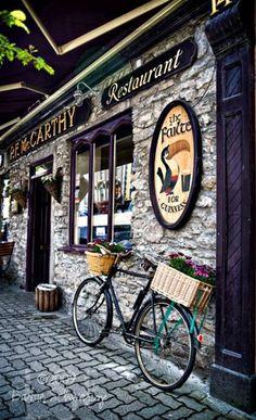 P.F. McCarthy's Restaurant, 14 Main Street Kenmare, County Kerry, Ireland.