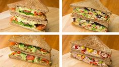 4 Healthy Sandwich Recipes For Weight Loss | Healthy Lunch Ideas - YouTube
