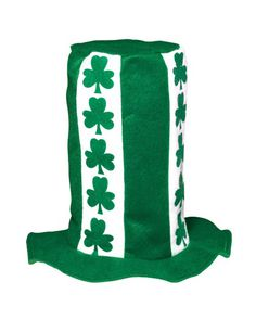St. Patrick's Day Stove Pipe Top Hat
