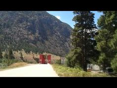 The Red Bridge in Keremeos July 2013 Fort Mcmurray, British Columbia, Bridge, Country Roads, Canada, Watch, Red, Clock, Bro