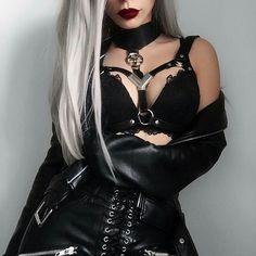 Chic outfit idea to copy ♥ For more inspiration join our group Amazing Things ♥ You might also like these related products: - Jeans ->. Gothic Outfits, Edgy Outfits, Mode Outfits, Grunge Outfits, Fashion Outfits, Gothic Dress, Dark Fashion, Grunge Fashion, Gothic Fashion