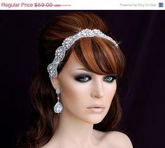 Hey, I found this really awesome Etsy listing at https://www.etsy.com/listing/173008053/sale-bridal-headband-wedding-headband