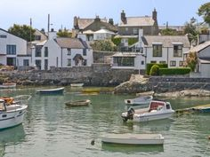 Thalassa Cottage to rent, Cemaes Bay, Anglesey, North Wales. Wales Uk, North Wales, Beautiful Islands, Beautiful Places, British Travel, British Seaside, Holiday Cottages To Rent, Welsh Cottage, Snowdonia