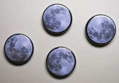 Moon Button Pack | Little Paper Planes