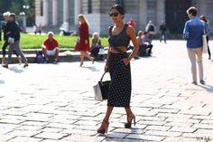 Milan Fashion Week Spring 2013 Street Style -