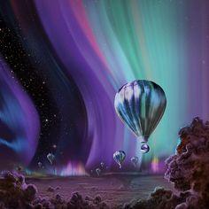 Papers.co wallpapers - ap37-jupiter-aurora-space-sky-art-illustration - http://papers.co/ap37-jupiter-aurora-space-sky-art-illustration/ - illustration, sky, space