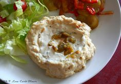 24/7 Low Carb Diner: Chicken and Green Chile Volcanoes