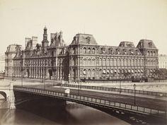 Hôtel De Ville, Paris  Louis-Auguste Bisson (French, 1814–1876) with Auguste Rosalie Bisson (French, 1826–1900) c. 1855