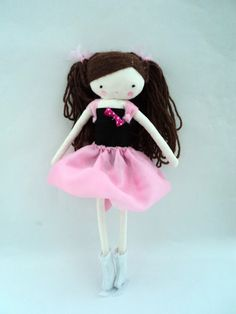 Custom order for Mary Lynne rag doll  plush by lassandaliasdeana
