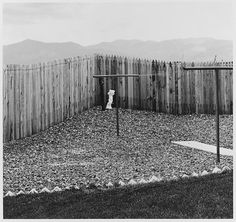 A Back Yard, Colorado Springs, Colorado 1968