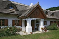 Heart Of Europe, Vernacular Architecture, Cottage Homes, Budapest, Traditional House, Countryside, Beautiful Homes, Gazebo, Sweet Home