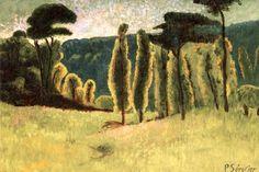 Pines and Poplars in a Field Paul Serusier