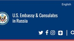 The mission of the United States Embassy is to advance the interests of the United States, and to serve and protect U.S. citizens in Russia. Visas ·Embassy & Consulates ·Посольство США https://ru.usembassy.gov/