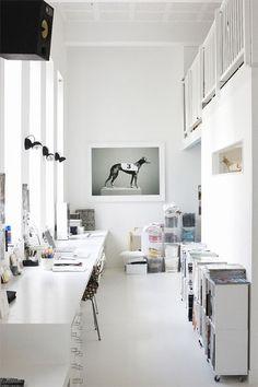 190 best office spaces images office home desk desk nook rh pinterest com