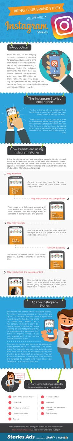 [Infographic] Bring Your Brand Story To Life With Instagram Stories Marketing