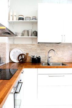 Photo. Sanna Siik-Keskisarja/ Sisustus COCO Kitchen Cabinets, Home Decor, Decoration Home, Room Decor, Cabinets, Home Interior Design, Dressers, Home Decoration, Kitchen Cupboards