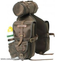 Front saddle bag made from Cordura for Western and Trekking saddle