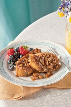 Praline-Pecan French Toast -  Make-Ahead Breakfast Casseroles - Southernliving. , Pecan Pralines, with one of its favorite breakfast foods—French Toast. Try it with French bread, challah, or Italian sweet bread for texture variety. Looking for a flavor variation? Try using pumpkin bread in the fall.
